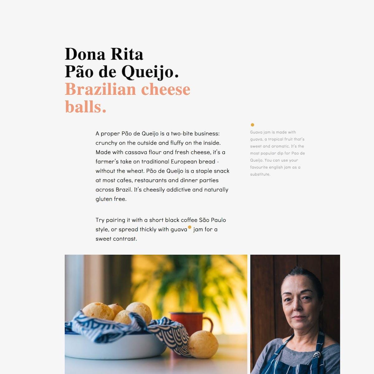 Dona Rita website